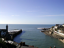 Entrance to Porthleven Harbour